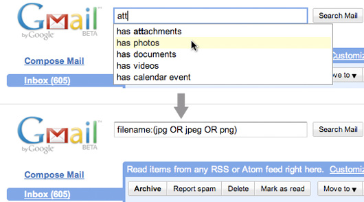 Mailplane - New Gmail Lab Feature: Gmail search autocomplete
