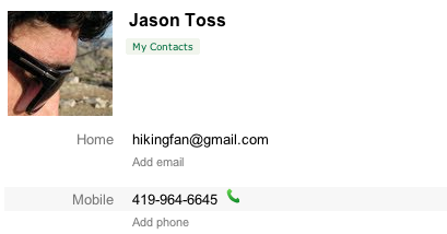 Number in contacts 1