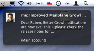 Improved Growl Notifications
