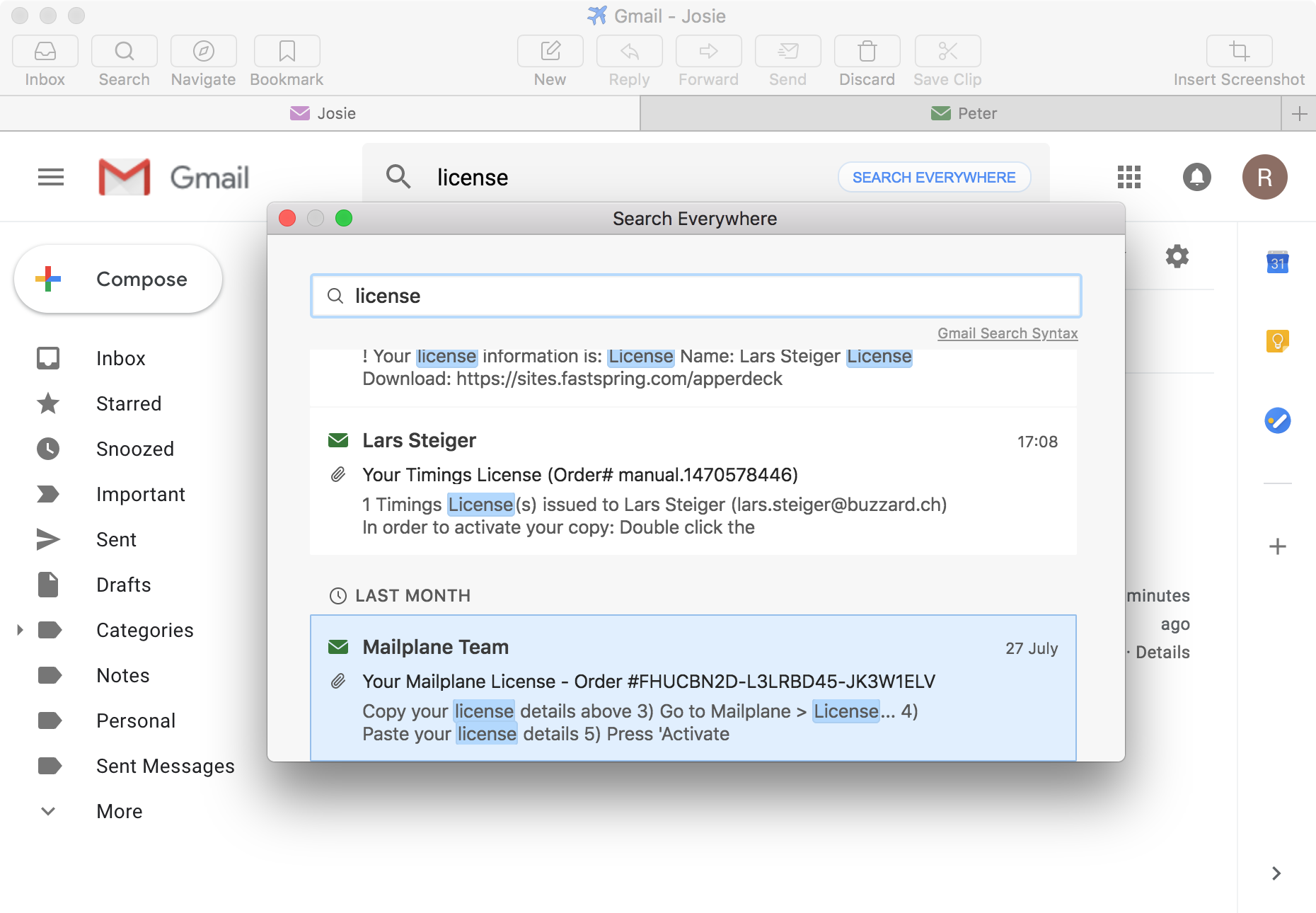 Mailplane - Gmail for Mac