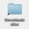 Alias in Download Location