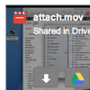 Download attachments shared in Google Drive
